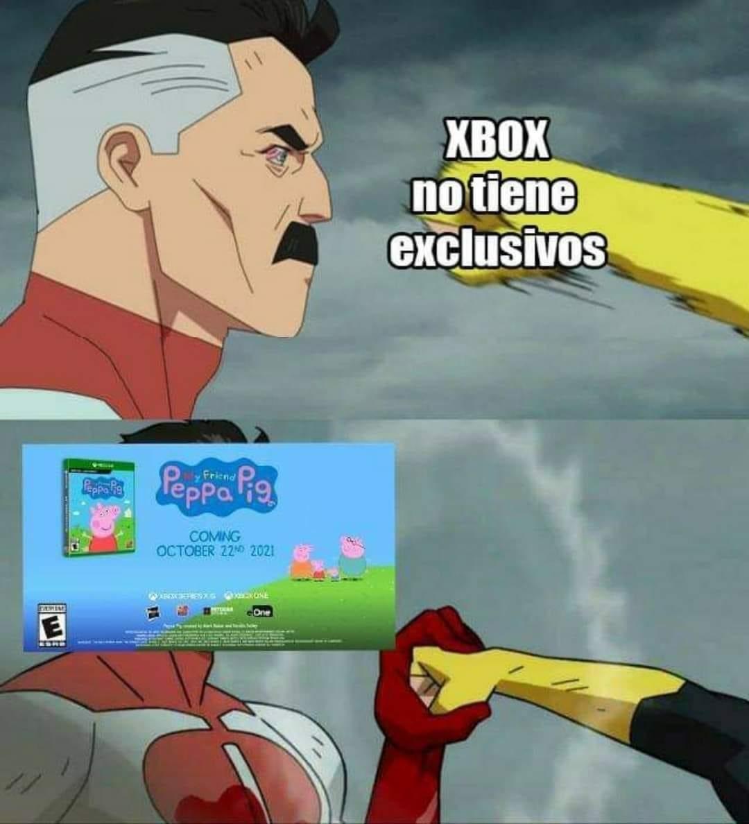 Xbox ya gano la generación - meme