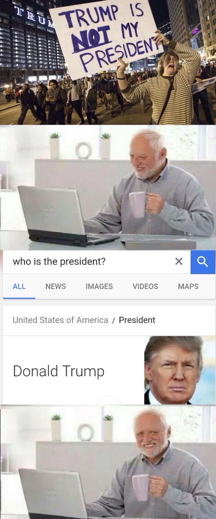 Pour toi Donald Trump . - meme