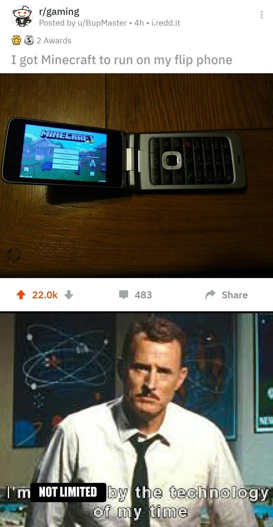 stark time - meme