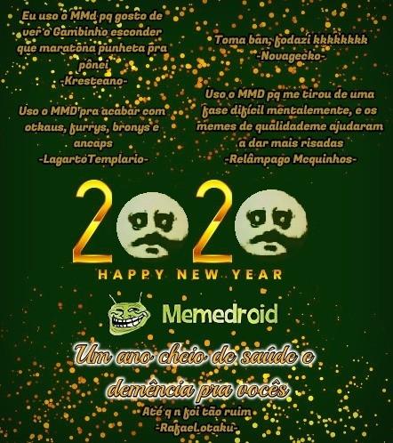 Feliz ano novo glr - meme
