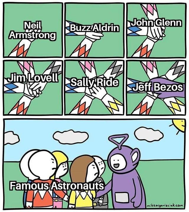 Famous Astronauts - meme