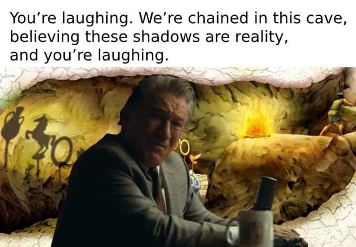 dongs in a cave - meme