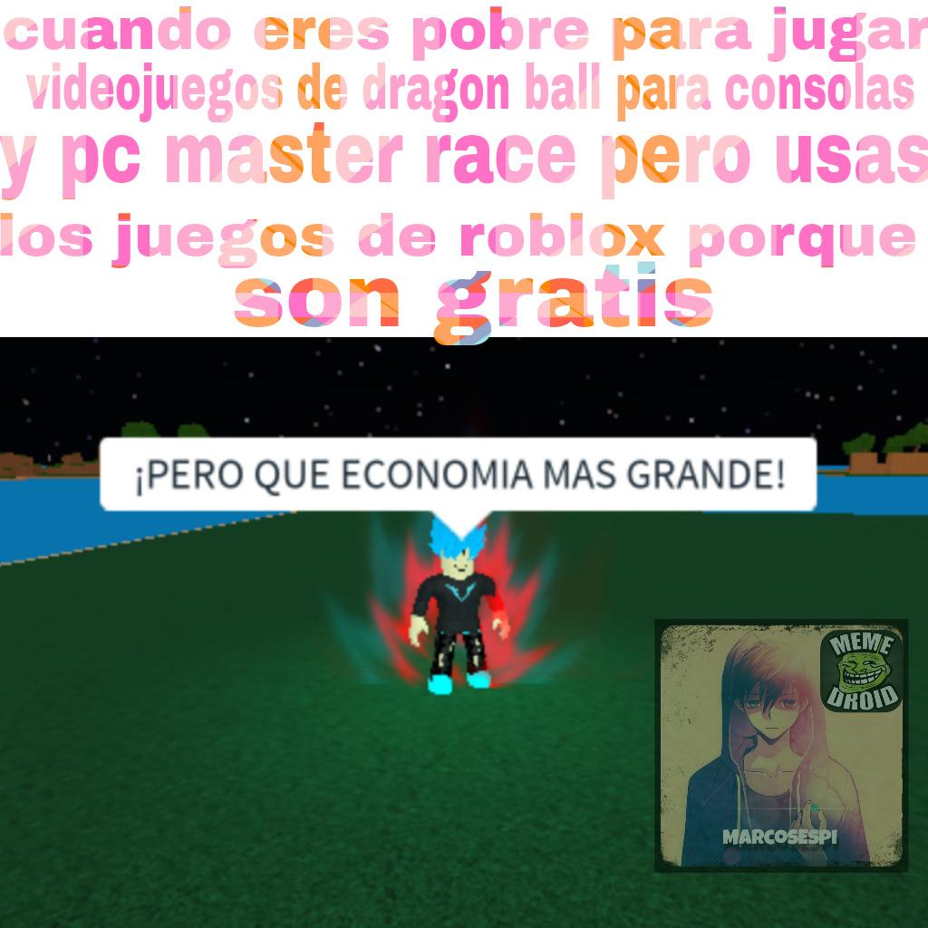 El juego es dragon ball rage - meme