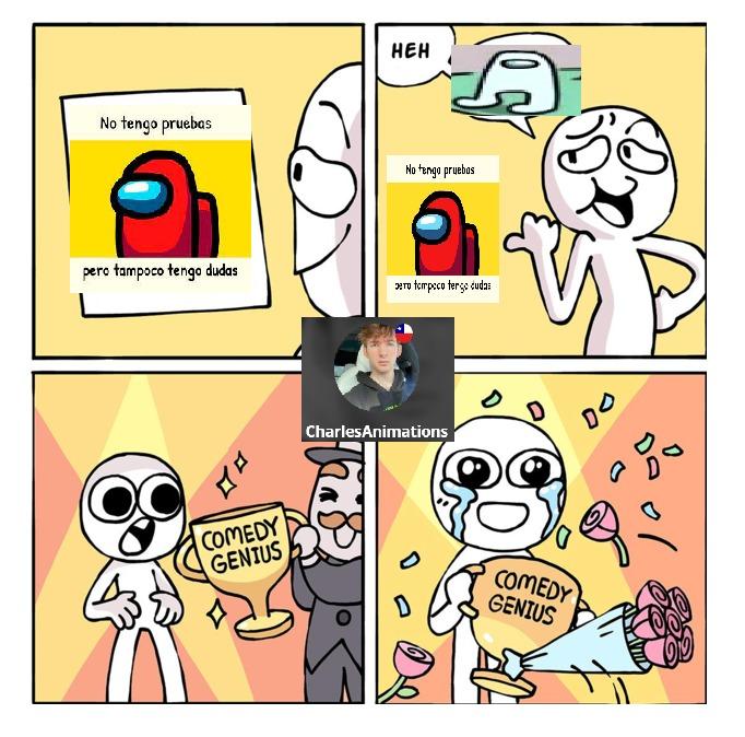 HeH AMONGUS - meme