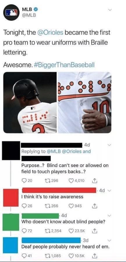 Le blindness - meme