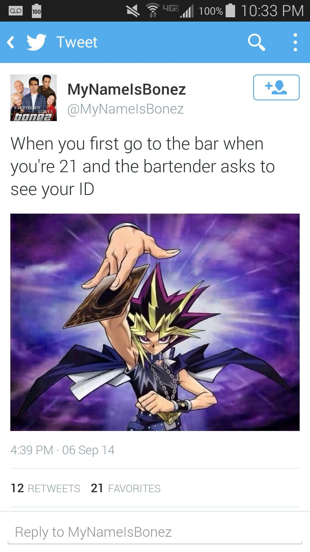 21 turn up - meme