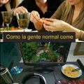 gente normal y gamers cx