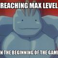When you reach the Max Level (Machoke Ditto Fusion)
