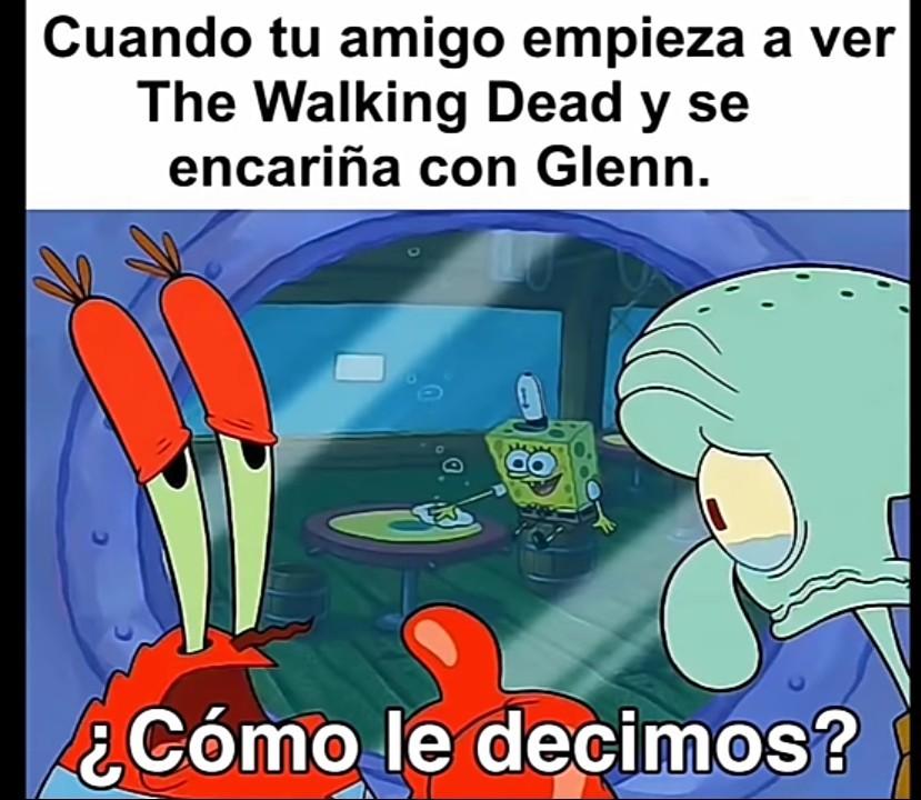 Glenn todavía vive en nuestros corazones - meme