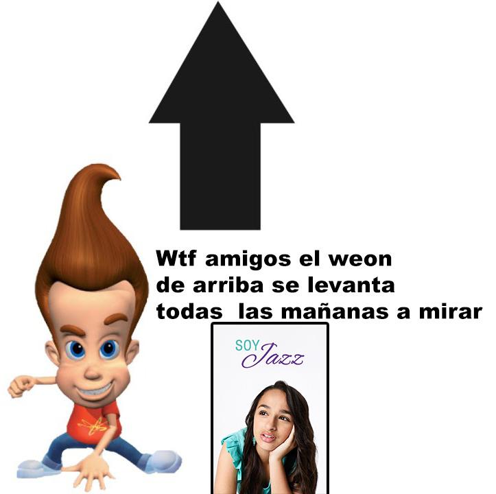 Wtf con el de arriba - meme