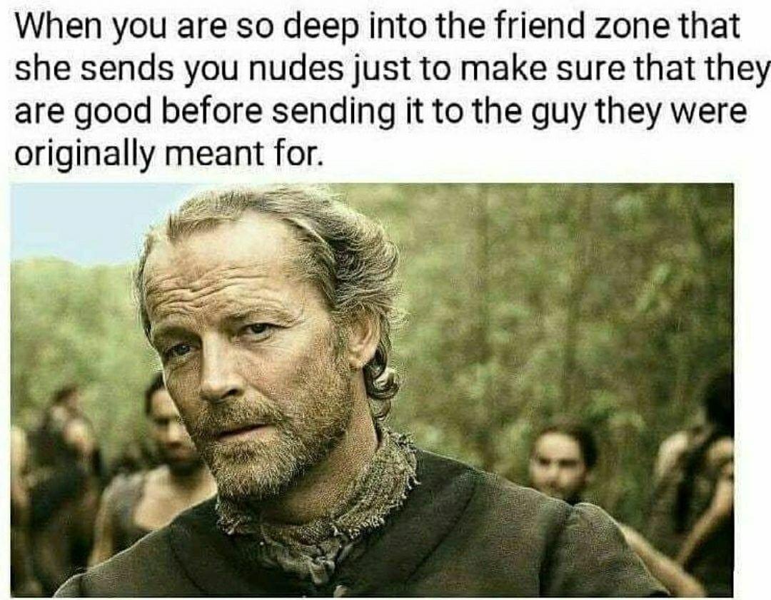 friend zone level over 9000 - meme