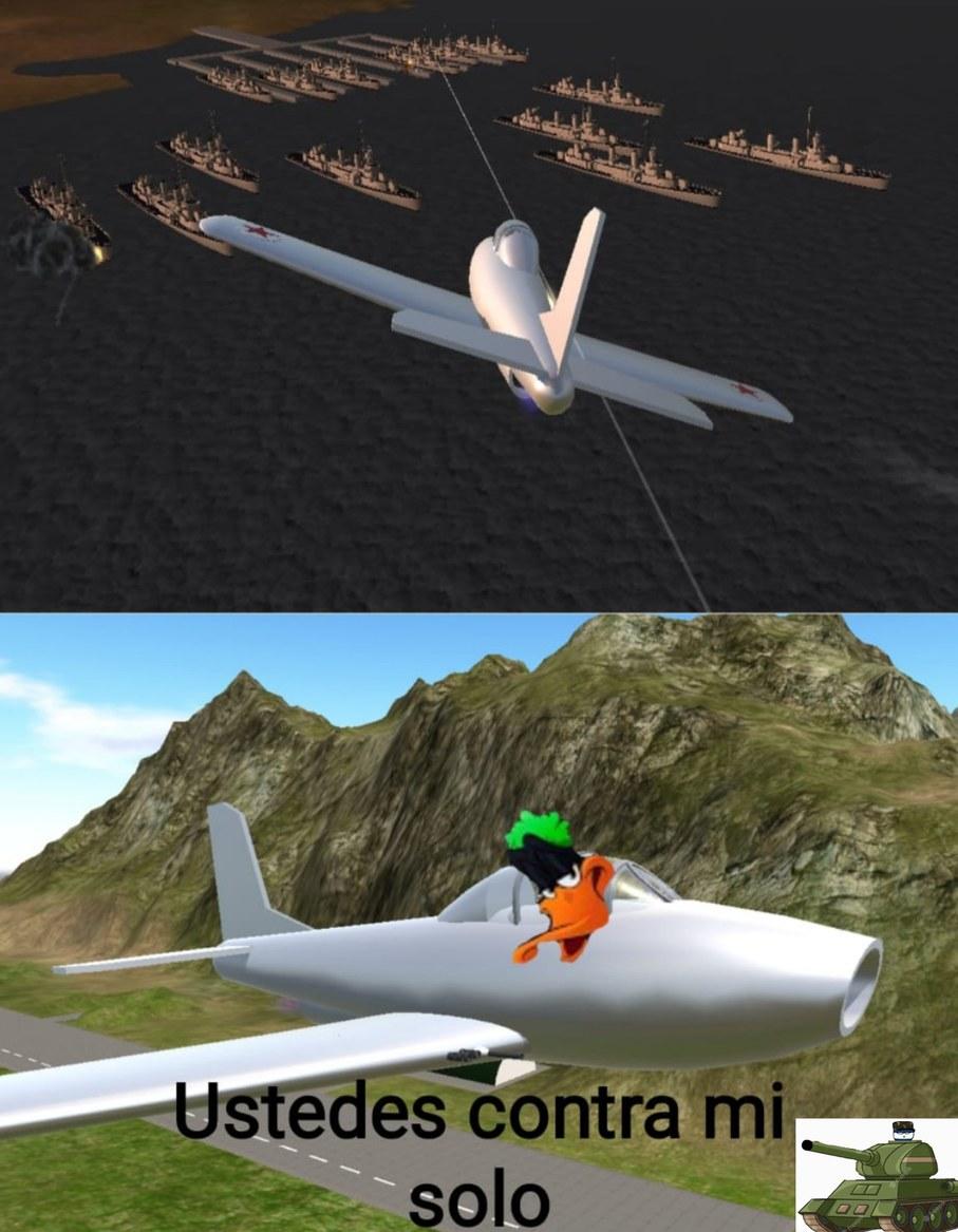 Pato lucas comete Pearl Harbor - meme