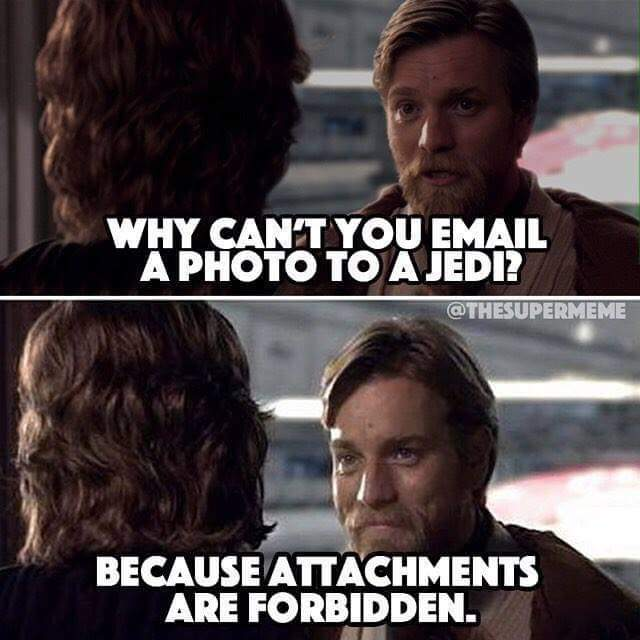 Another jedi joke - meme