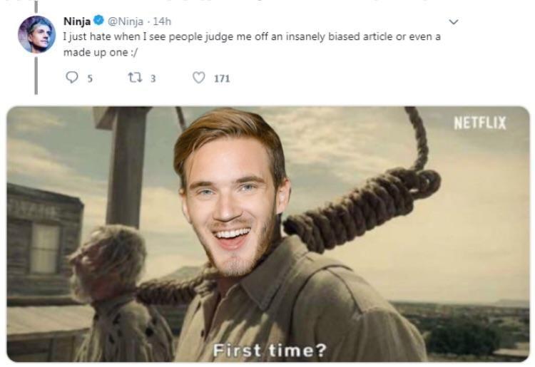Hail Pewds - meme
