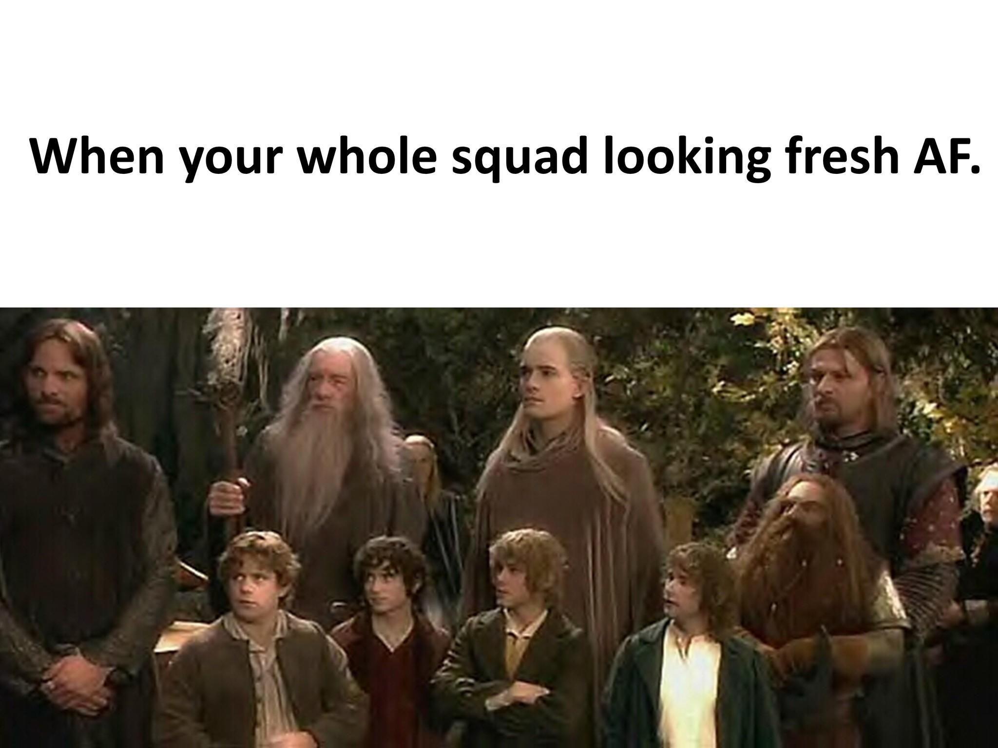LoTR Squad - meme
