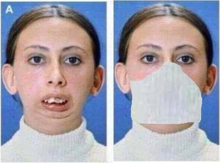 Beware of Masks - meme