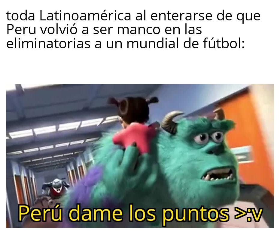 """Perú no nos llevará a Qatar :""""v - meme"""