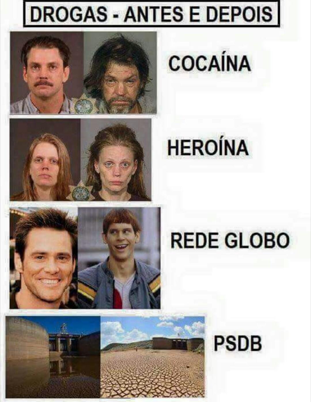 Não usem drogas - meme