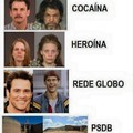 Não usem drogas