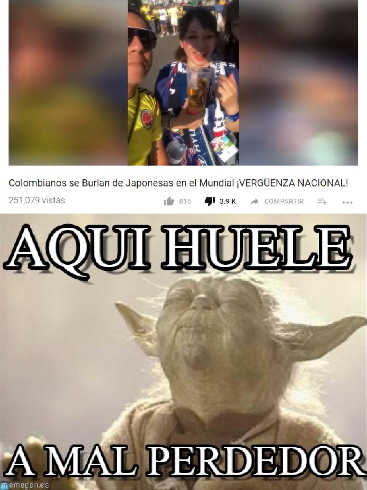 colombiano weros - meme