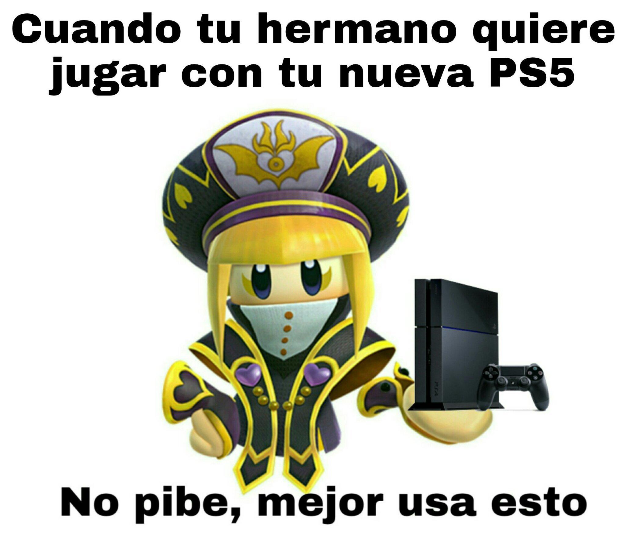 La PS5 es sagrada - meme
