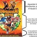 Yo solo queria ser paleontologo, ¿porque me dejaron ver Jurassic Park?