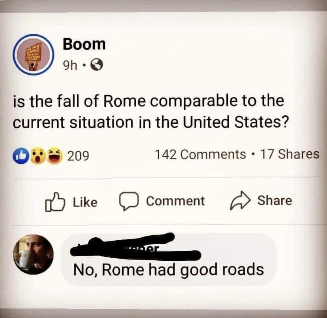 dongs in a road - meme