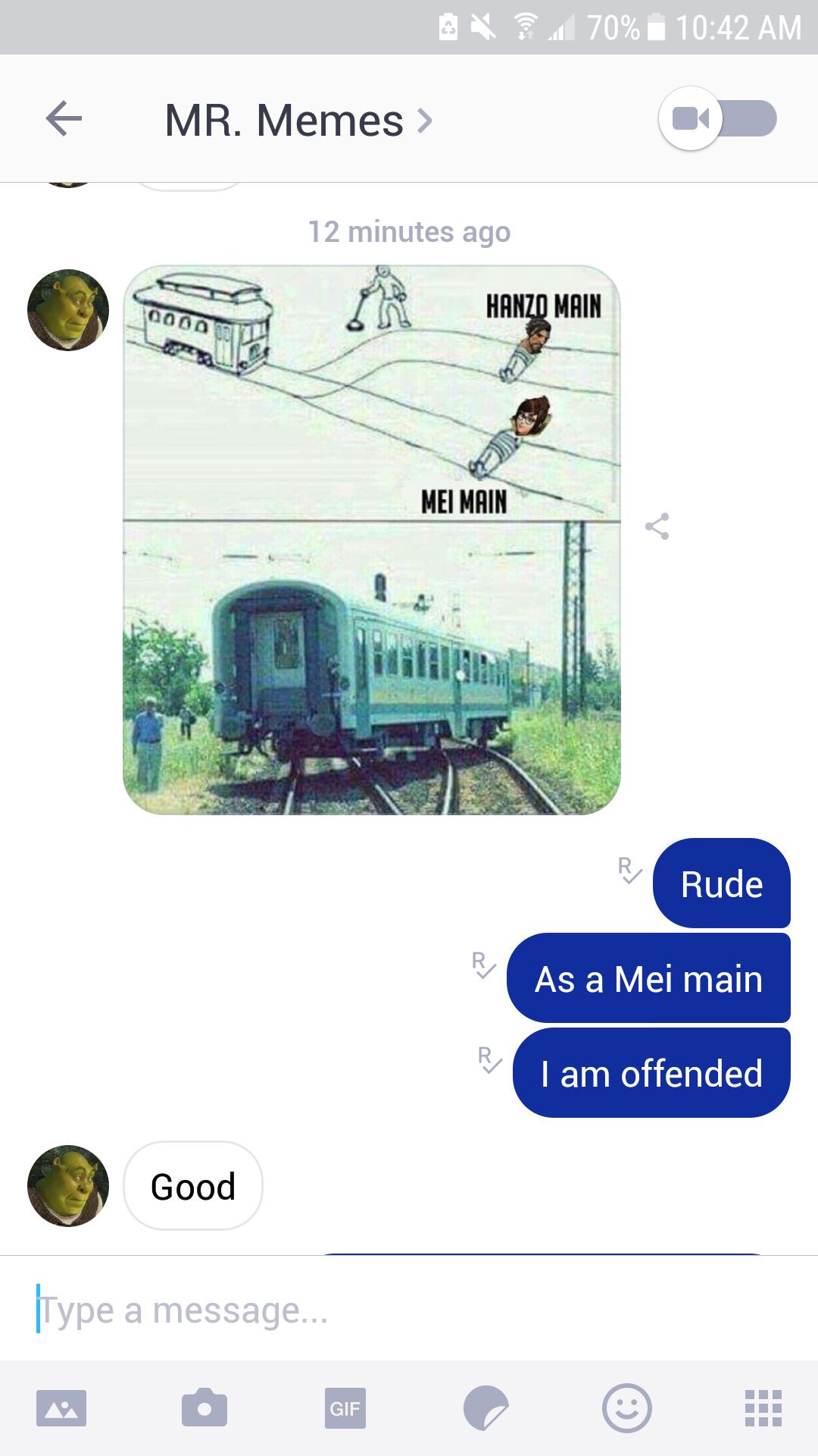 I main Mei - meme