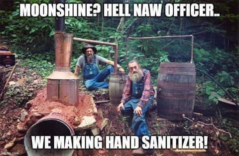 White lightenung sanitizer - meme