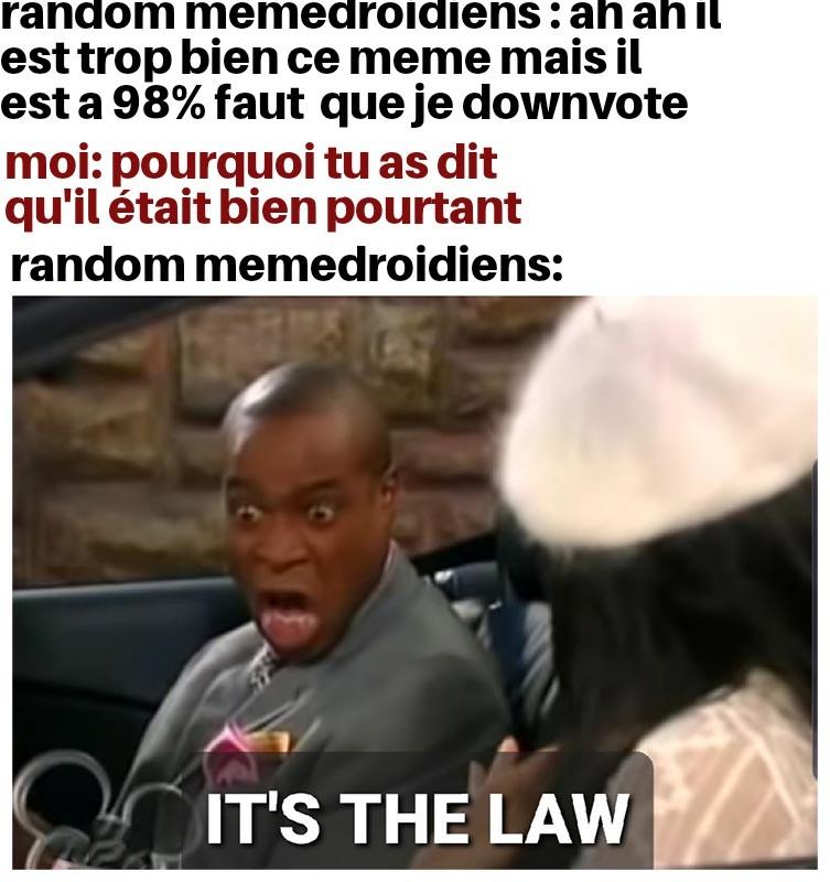C'est la loi - meme