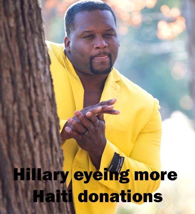 Hillary can't wait - meme