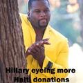 Hillary can't wait