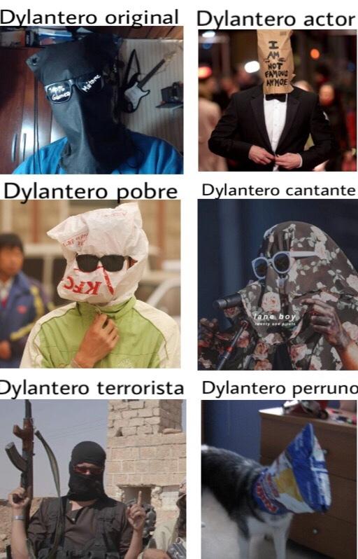 Dylanteros - meme