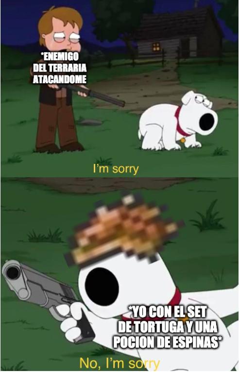 aunque realmente la pocion de espinas es una reverenda mierda - meme