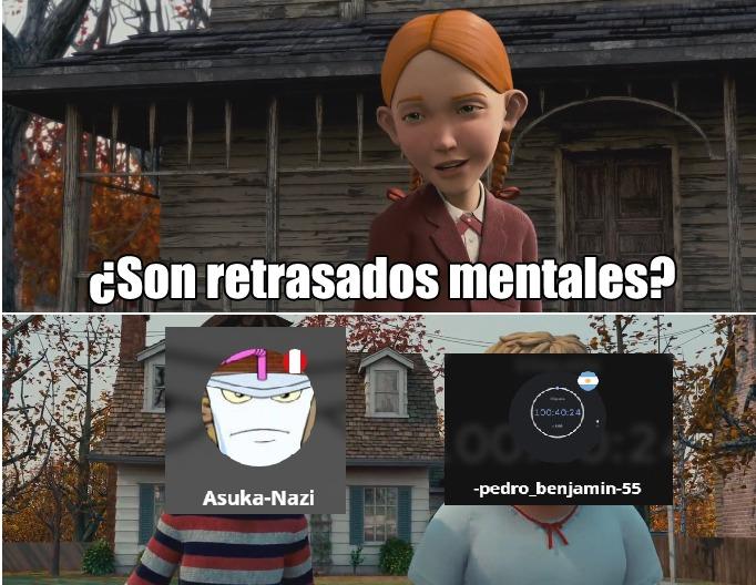 Altos mongolicos los dos, pero mas el -pedro_vergajoto-55 - meme