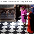 The queen is unstoppable