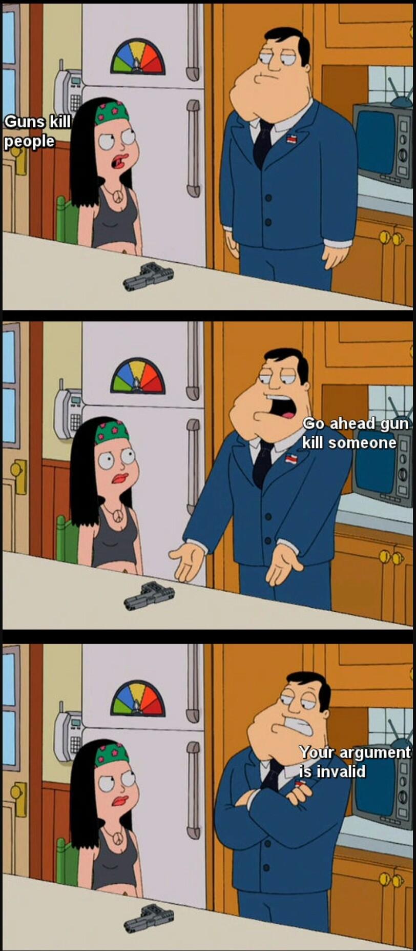 Gun control - meme