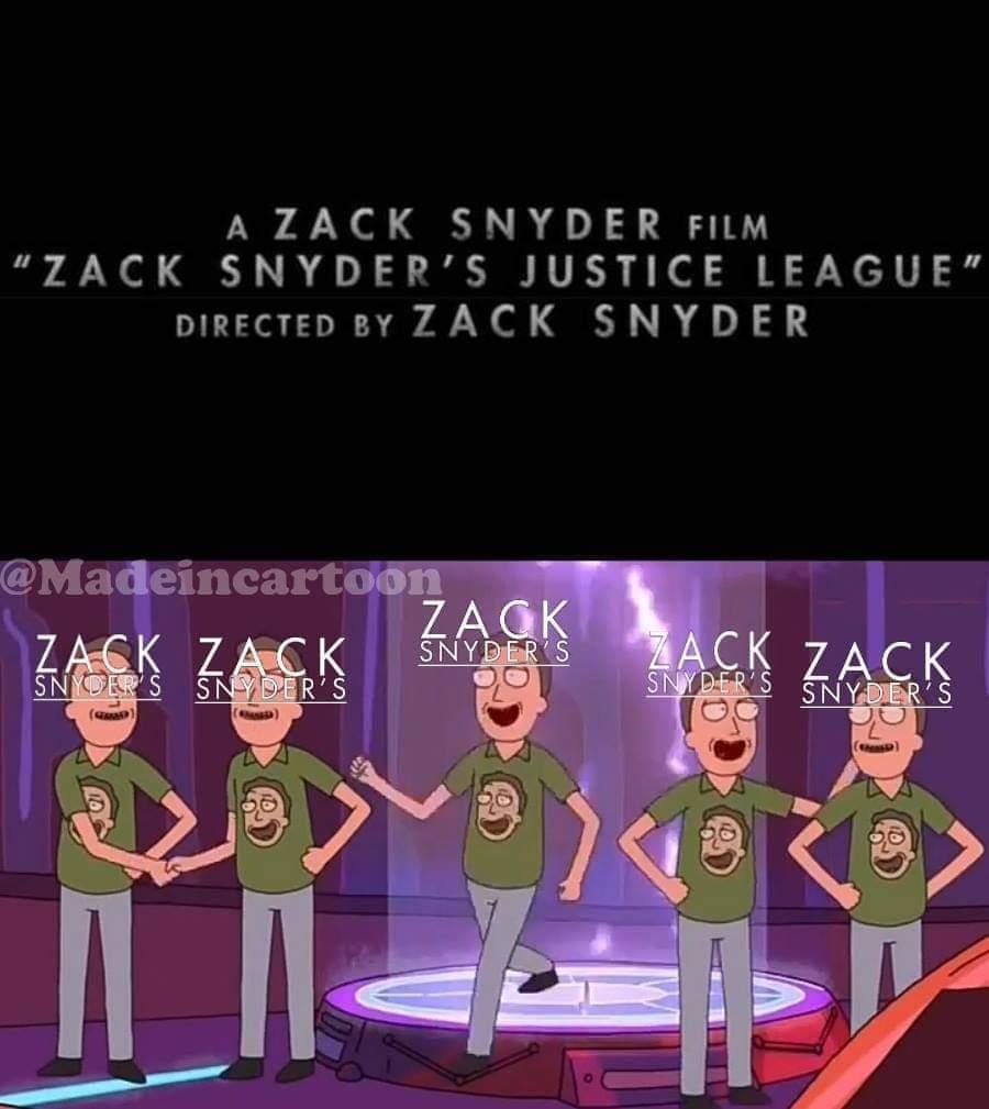 Zack Snyder - meme
