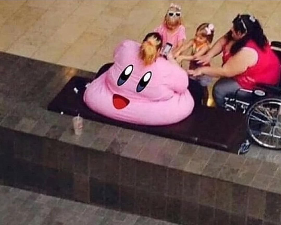 Kirby dps de duas feijoca - meme