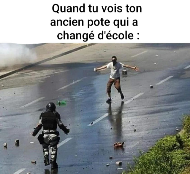 Sacré Hubert, you are so French ! - meme