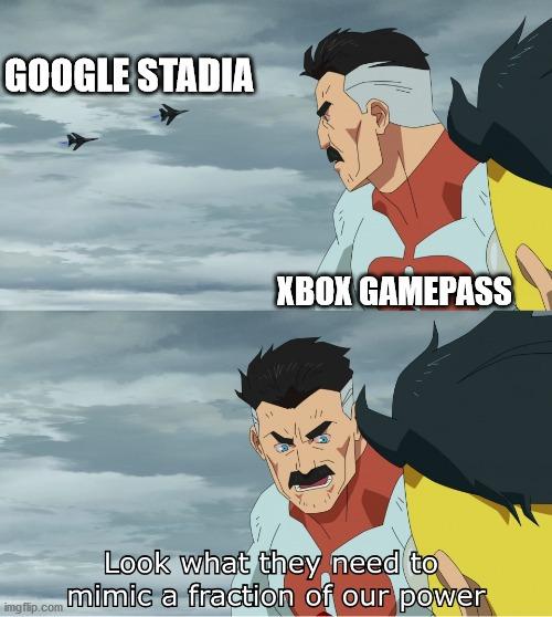 Gamepass is very nice - meme