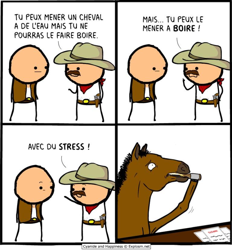 Le stress - meme