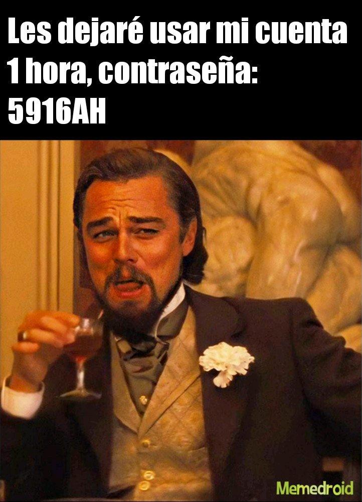 Leonardo DiCaprio chiste - meme