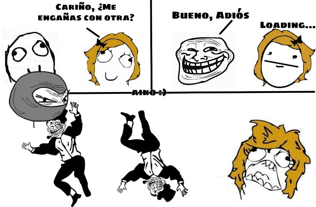 Volvieron los rage comics! :allthethings: - meme