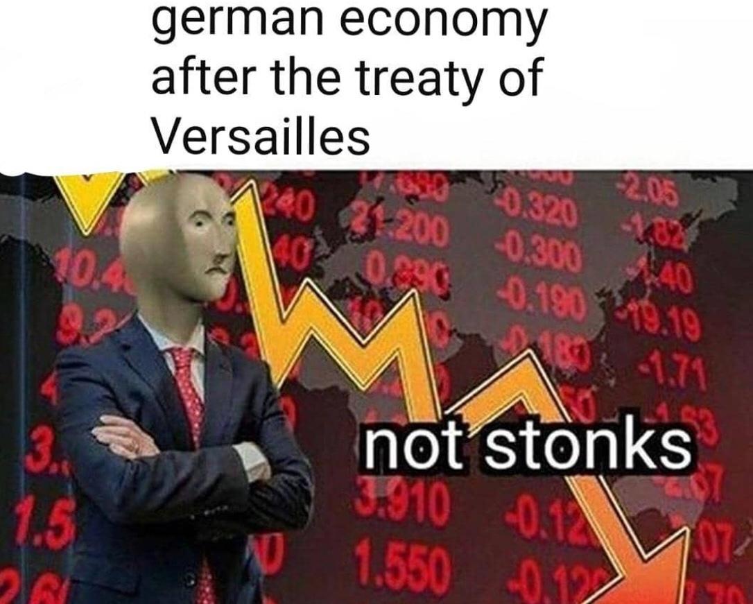não stonks - meme