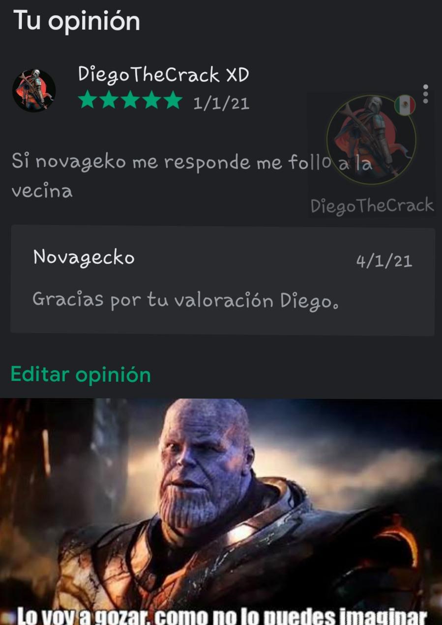 Gracias novagerka - meme