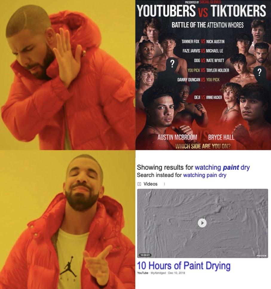 Battle of the fuckbois - meme
