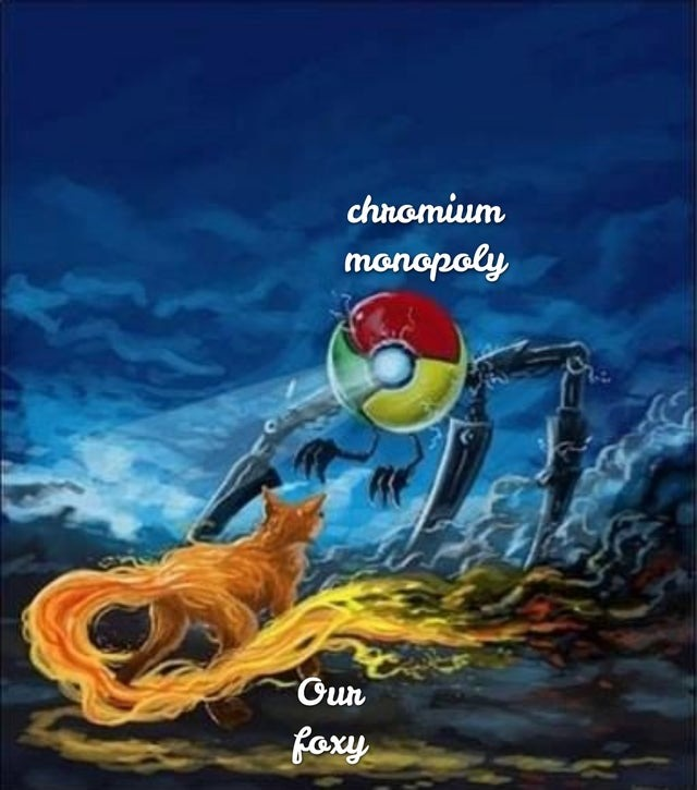 We must use Firefox - meme