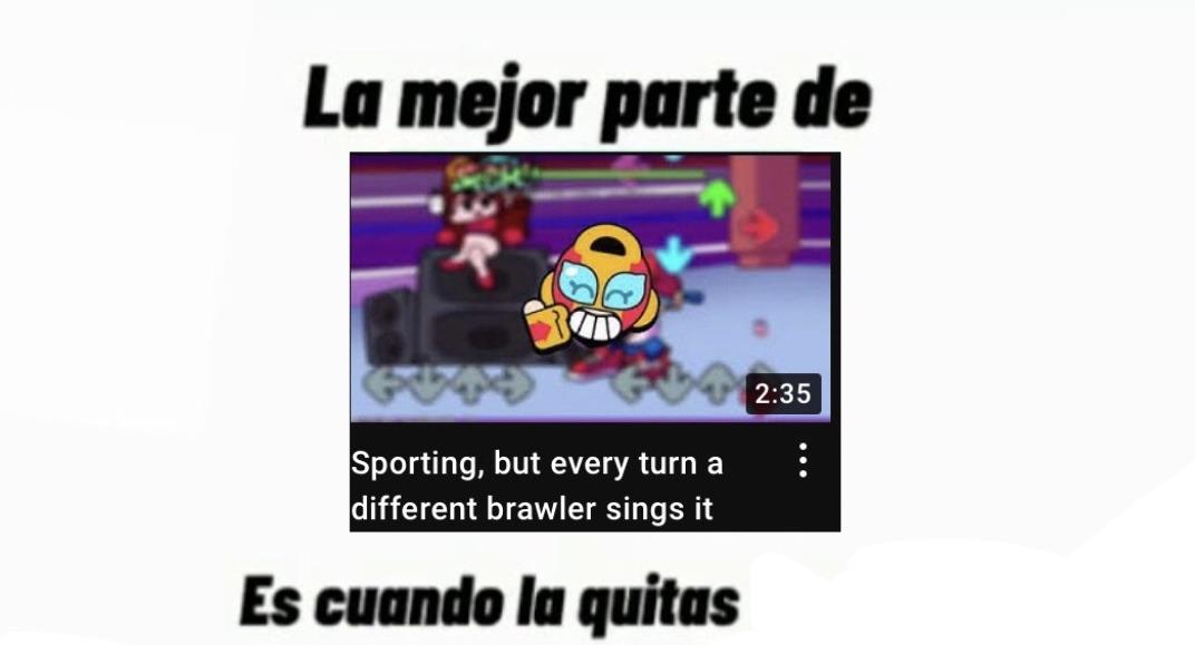 """El meme surgió porque un amigo me pasó el video y me dijo """"la mejor parte es cuando termina"""""""