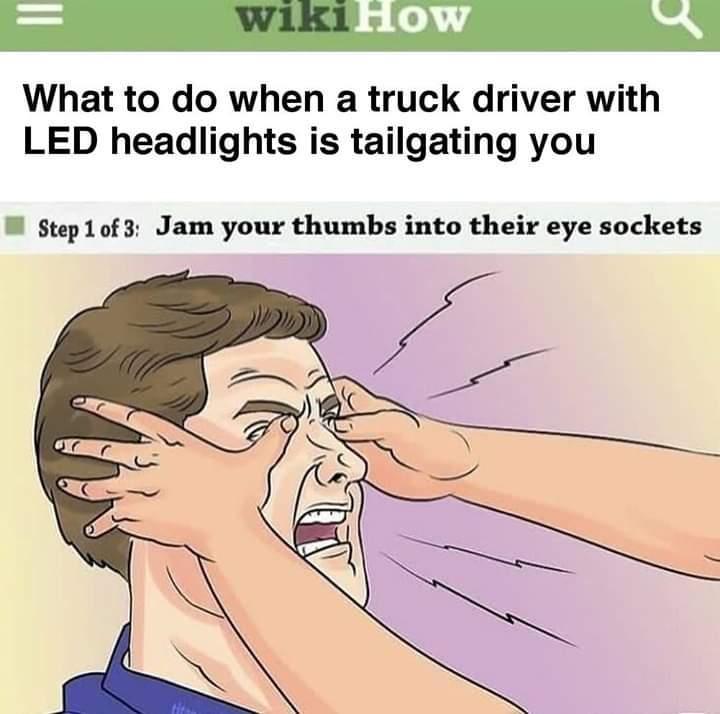 Brake check - meme
